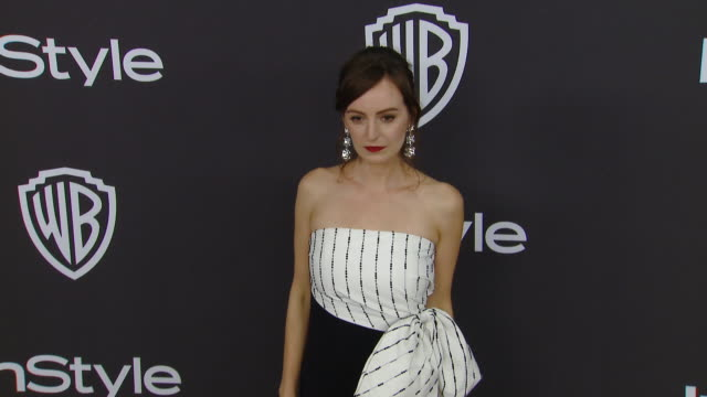 Ahna O'Reilly at the Warner Bros and InStyle Host 20th Annual PostGolden Globes Party at The Beverly Hilton Hotel on January 6 2019 in Beverly Hills...