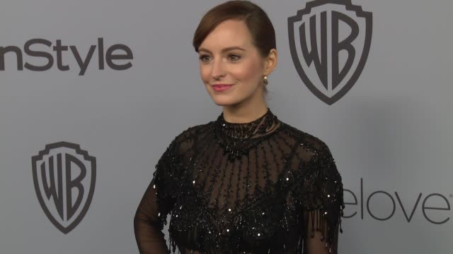 Ahna O'Reilly at the Warner Bros Pictures and InStyle Host 19th Annual PostGolden Globes Party at The Beverly Hilton Hotel on January 7 2018 in...