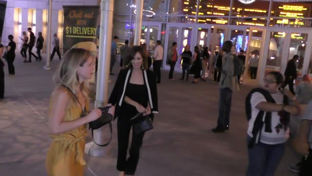 Ahna O'Reilly leaves ArcLight Cinemas in Hollywood in Celebrity Sightings in Los Angeles