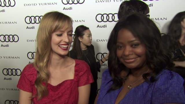Ahna O'Reilly Octavia Spencer on why they wanted to kickoff Emmy week with Audi what they thought about the allnew Audi A8 how the success of The...