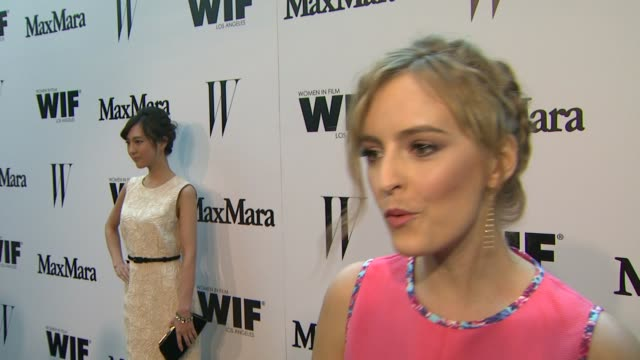 INTERVIEW Ahna O'Reilly on what brings her out why it's important to support women in film what she loves about Max Mara at the Max Mara And W...