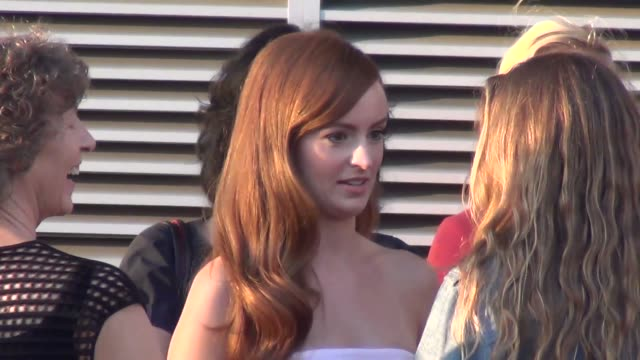 Ahna O'Reilly outside the Jobs Premiere at Regal Cinemas in Los Angeles at Celebrity Sightings in Los Angeles Ahna O'Reilly outside the Jobs Premiere...