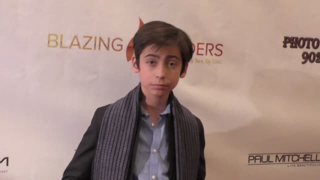 Aidan Gallagher at the Second Annual Legacy Gala at Casa Del Mar in Santa Monica at Celebrity Sightings in Los Angeles on November 20 2015 in Los...