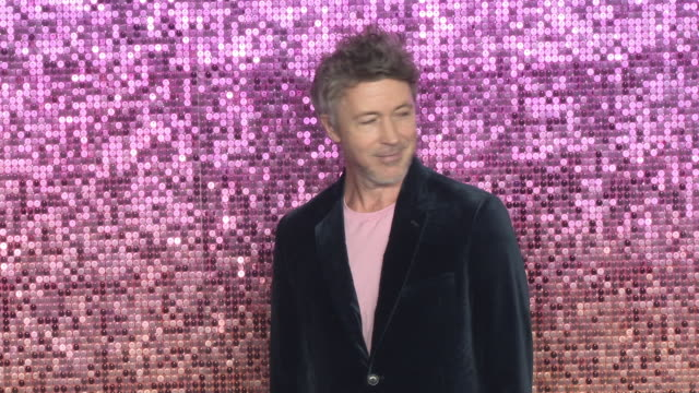 aidan gillen at bohemian rhapsody world premiere at wembley arena on october 23 2018 in london england - aidan gillen stock videos & royalty-free footage