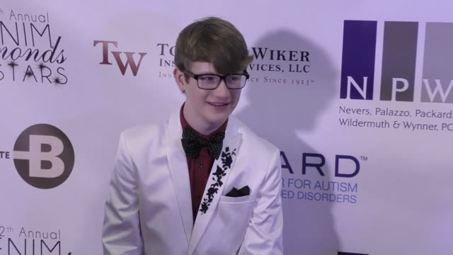 aidan miner at the 12th annual denim diamonds and stars on october 22 2017 in westlake village california - westlake village california stock videos & royalty-free footage