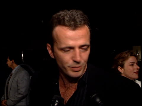 aidan quinn at the 'michael collins' premiere at academy theater in beverly hills california on october 7 1996 - aidan quinn stock videos & royalty-free footage