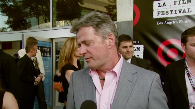 aidan quinn on why he wanted to be involved in this event and why clint eastwood deserves the award at the spirit of independence award ceremony... - aidan quinn stock videos & royalty-free footage