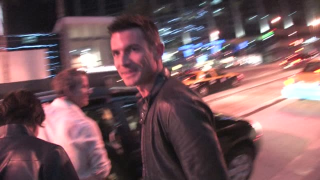 Aiden Turner at Boa in West Hollywood at the Celebrity Sightings in Los Angeles at Los Angeles CA