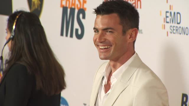 Aiden Turner at the 17th Annual Race To Erase MS CoChaired By Nancy Davis Tommy Hilfiger at Los Angeles CA