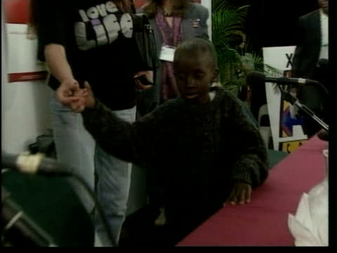 aids orphan dies south africa aids orphan dies pool nkosi to table for press conference - orphan stock videos and b-roll footage
