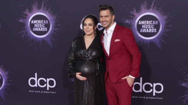 aijia lise and andy grammer at the 2019 american music awards at microsoft theater on november 24 2019 in los angeles california - american music awards stock videos & royalty-free footage