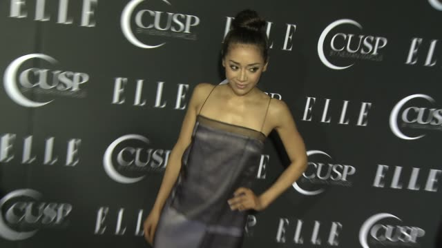 stockvideo's en b-roll-footage met aimee garcia at 5th annual elle women in music celebration presented by cusp by neiman marcus at avalon on april 22, 2014 in hollywood, california. - neiman marcus