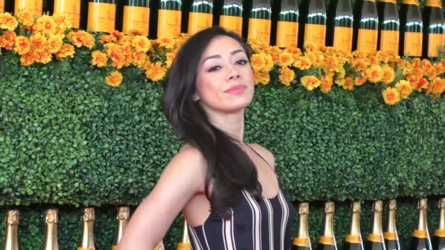 Aimee Garcia at the sixth annual Veuve Clicquot Polo Classic at Will Rogers Historic State Park in Pacific Palisades at Celebrity Sightings in Los...