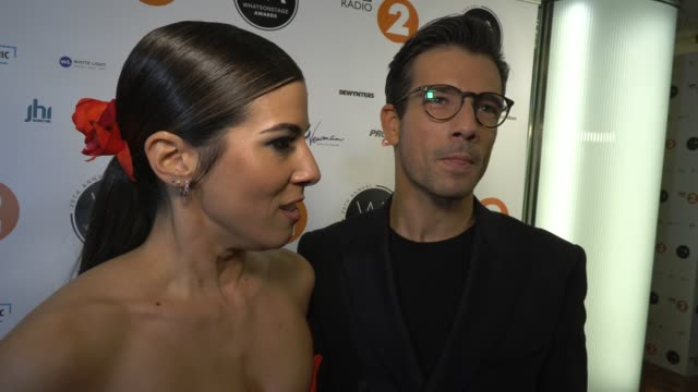 aimie atkinson, danny mac on the awards and the opening of pretty woman at whatsonstage awards on march 01, 2020 in london, england. - beautiful people stock videos & royalty-free footage