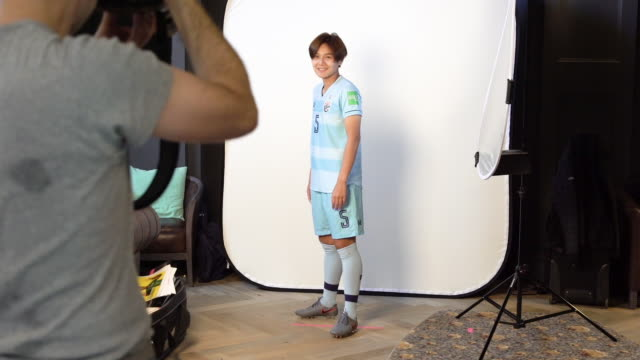 Ainon Phancha at FIFA Women's World Cup France 2019 Team Portrait Session on June 08 2019 in Reims