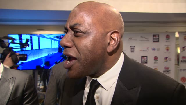 interview ainsley harriott on the importance of diversity events living in a multicultural society and the importance of sport at the 4th british... - ainsley harriott stock videos & royalty-free footage