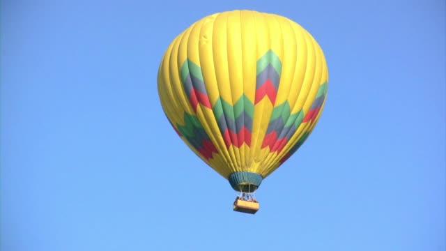 空気バルーン v.3 (hd - 熱気球点の映像素材/bロール