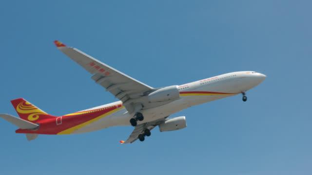 air china - 旅客機点の映像素材/bロール