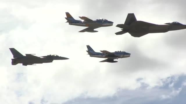 Air Combat Command F22 Raptor demo team