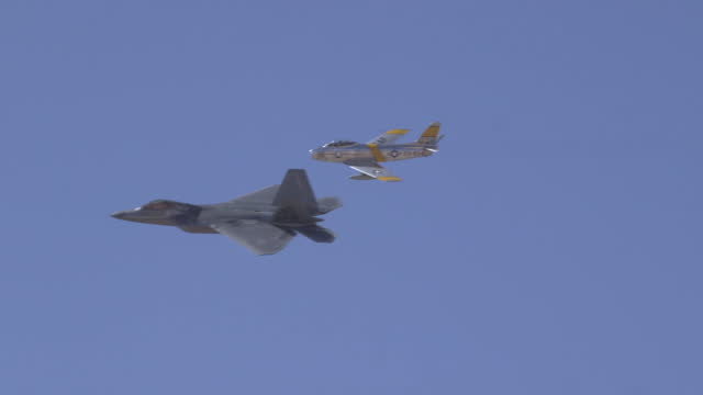 air combat command's heritage flight training course hosted at davis-monthan air force base, arizona, mar. 4, 2021. - us military stock videos & royalty-free footage