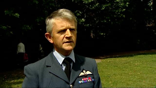 Air Commodore Simon Falla interview SOT