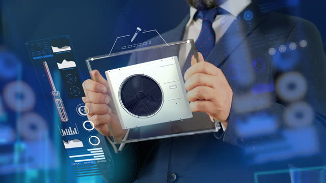 エアコン販売 - 4k解像度 - エアコン点の映像素材/bロール