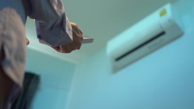 air conditioner - control stock videos & royalty-free footage