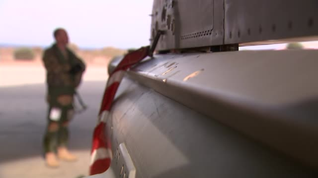 raf air crews strike at islamic state targets from raf akrotiri cyprus raf akrotiri tornado aircraft taking part in operation shader taxiing raf... - 給油点の映像素材/bロール