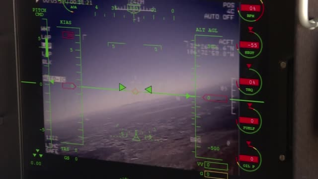 US Air Force Drone/RPA pilots in training from Holloman Air Force base in New Mexico USA