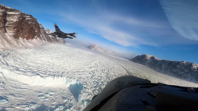 air force f-16 cockpit footage taking off from greenland and aerial footage of b-1b lancers and e-3 ewac aircraft during exercise amalgam dart. . - condensation stock videos & royalty-free footage
