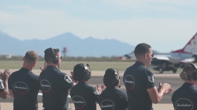 US Air Force host the 2019 Thunder and Lightning Over Arizona airshow at DavisMonthan Air Force Base