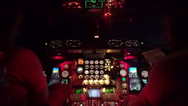 air force kc-135 stratotanker provides aerial refueling to u.s. marine corp ea-6b prowler, assigned to marine tactical electronic warfare squadron 2... - pilot stock videos & royalty-free footage