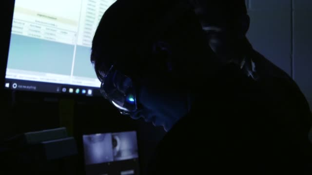 us air force nondestructive inspection team carry out nondestructive inspections on aircraft parts at hurlburt field florida may 16 2019 the team use... - scientific imaging technique stock videos and b-roll footage