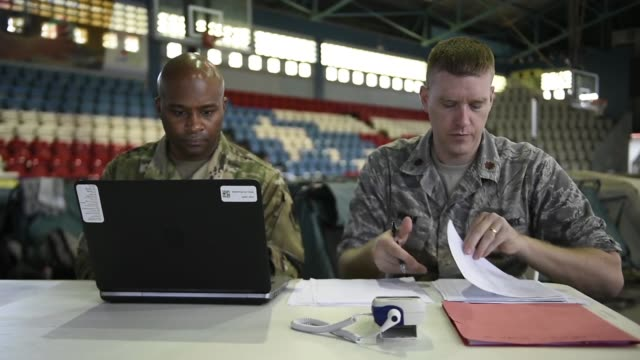 us air force personnel provide medical care during a two week medical exercise in lares puerto rico april 30 2019 - medical resident stock videos and b-roll footage