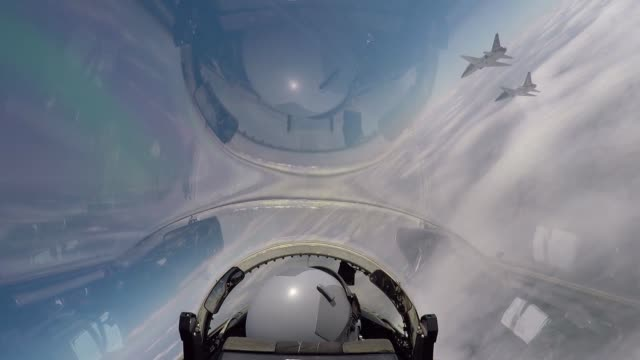 us air force pilots assigned to the 560th flying training squadron fly t38c talons in formation for the 45th freedom flyer reunion over joint base... - us airforce stock videos & royalty-free footage