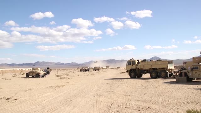 Air Force Weather Forecasters support US Army assets at the National Training Center Fort Irwin CA