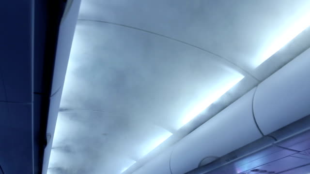 Air in the plane.