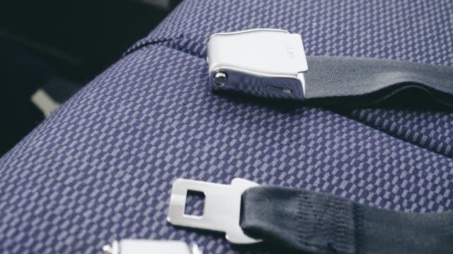 Air Plane Seat Belt in Flight