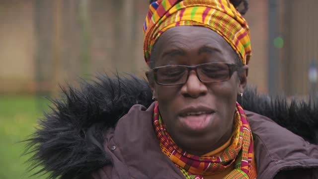 stockvideo's en b-roll-footage met coroner rules air pollution contributed to death of ella kissi-debrah; england: london: ext anjali raman-middleton interview sot rosamund... - itv