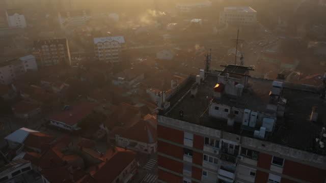 市内の大気汚染 - 見渡す点の映像素材/bロール