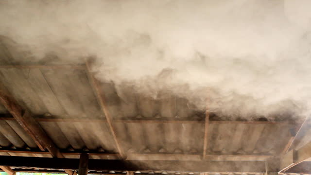 air pollution of factory - textile industry stock videos & royalty-free footage