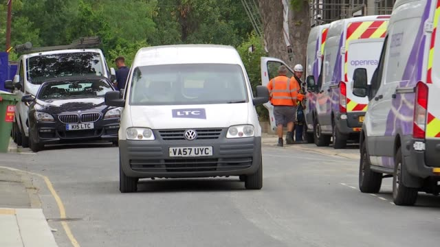 tfl ends diesel scrappage scheme aimed at helping small businesses buy cleaner vehicles; england: london: ext dr alison moore interview sot cutaway... - waiting stock videos & royalty-free footage