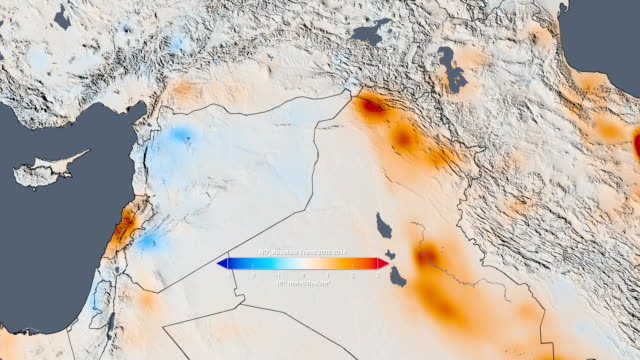 Air quality, Middle East, 2005-2014