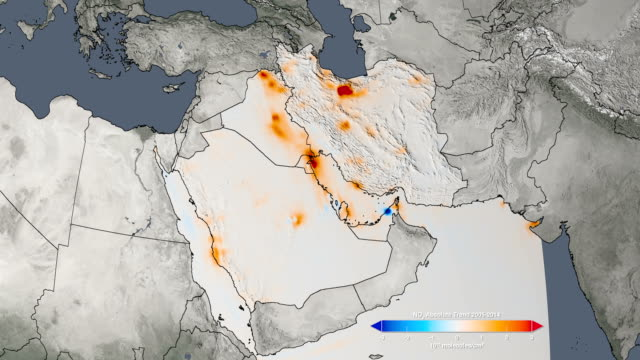 Air quality, Persian Gulf, 2005-2014