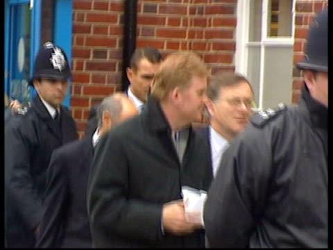 vinnie jones sentenced for assault also lay same as news at ten - vinnie jones stock videos & royalty-free footage
