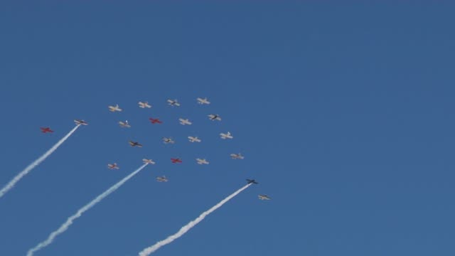 air show held at Nellis Air Force Base