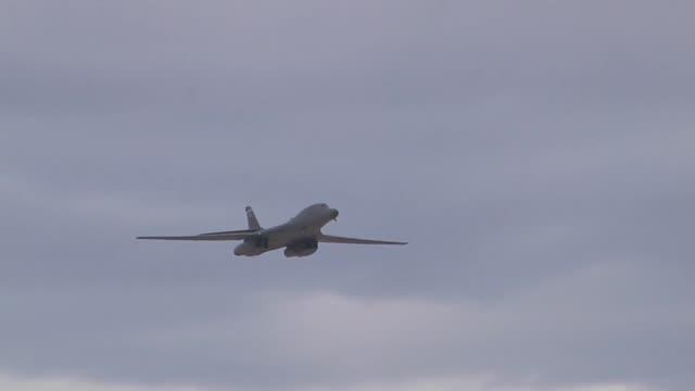 vídeos de stock, filmes e b-roll de air show held at nellis air force base - nellis air force base