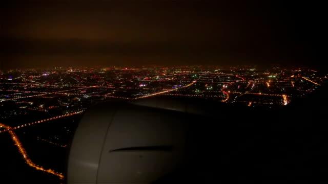 air travel at night - vehicle interior stock videos & royalty-free footage