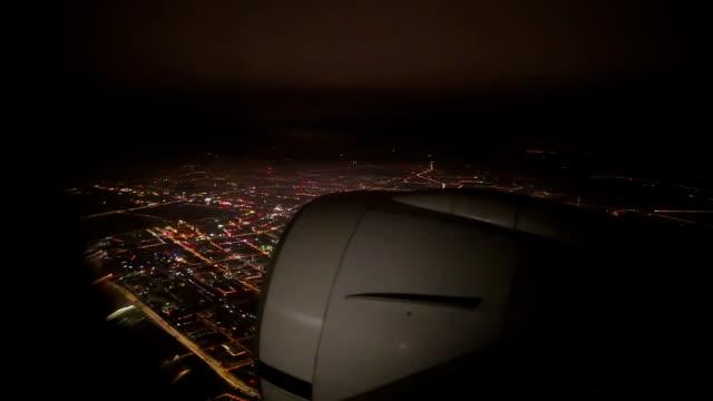 Air Travel at Night