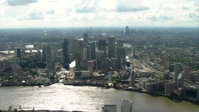 air views of london and world war ii flypast england london central london with mists of red white and blue clouds/smoke hanging in the air following... - war and conflict stock-videos und b-roll-filmmaterial